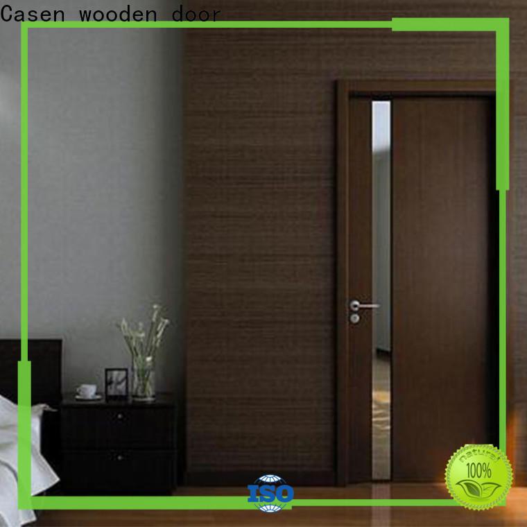 Casen elegant solid wood outside doors manufacturer for store