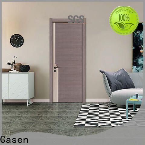 Casen chic wooden door design for room factory for shop