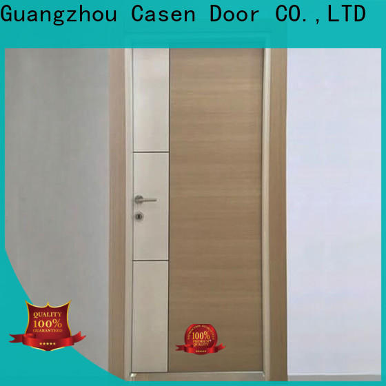 Casen bulk cheap mdf doors vendor for washroom