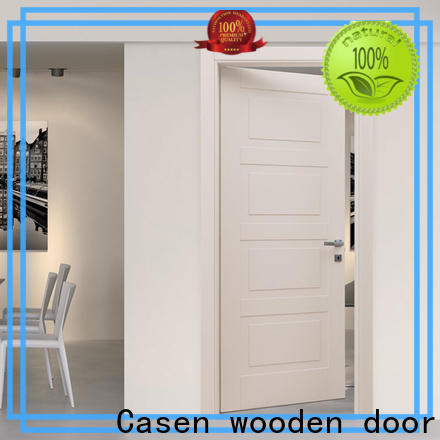 buy interior wood doors flat manufacturer for bathroom