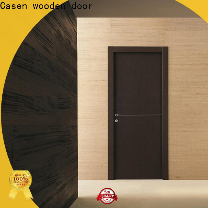 ODM modern style front doors high quality manufacturer for washroom