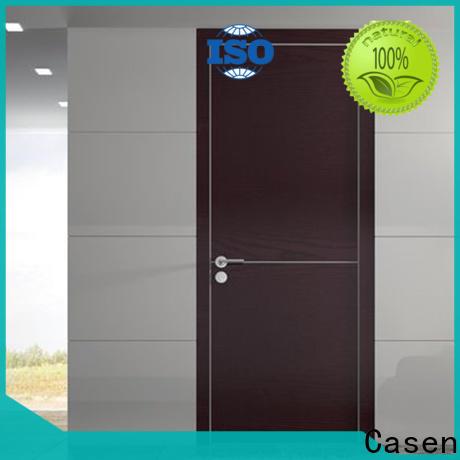 Casen elegant large wooden door supplier for living room