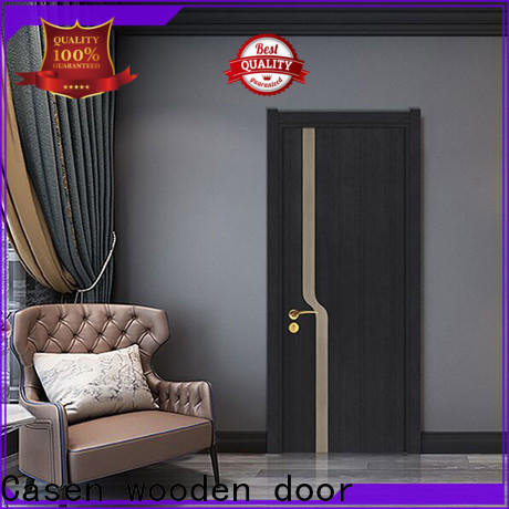 Casen wooden best interior doors vendor for bathroom