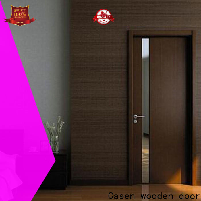Casen chic wooden designer doors supplier for store decoration