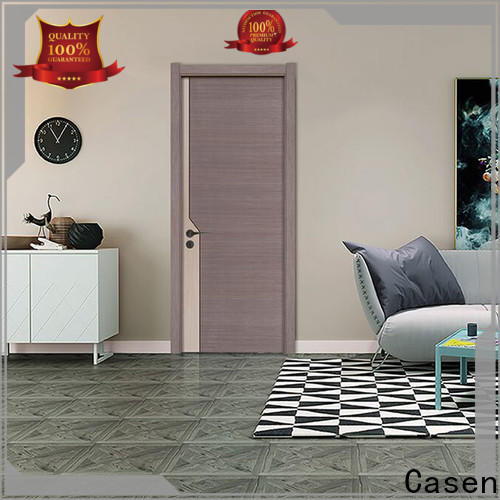 Casen top wood entry door manufacturers vendor for store decoration