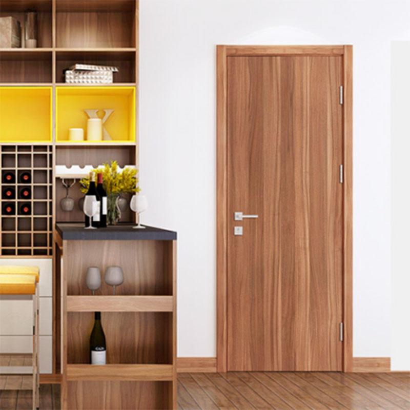 JS-2049 MDF door flat simple design