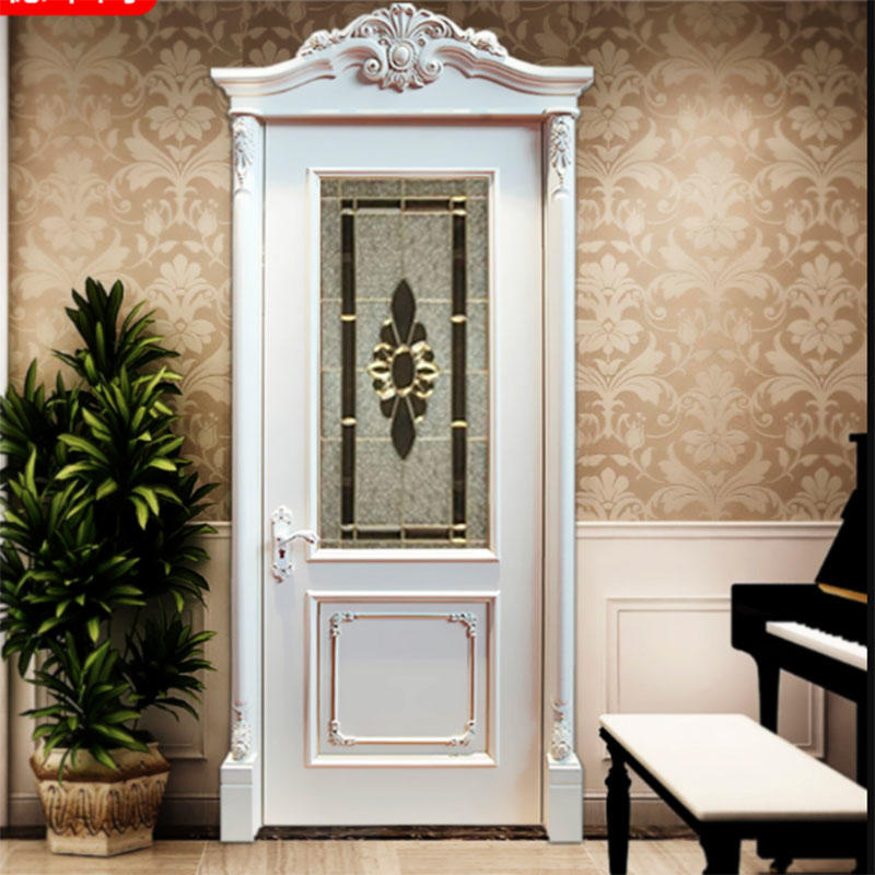 JS-9076 glass door for home