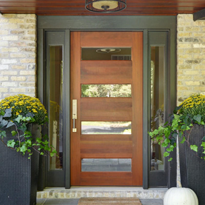 front door with sidelights ODM wholesale for dining room-3
